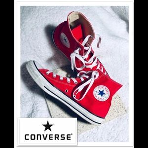 CONVERSE Chuck Taylor All Star Red High Tops